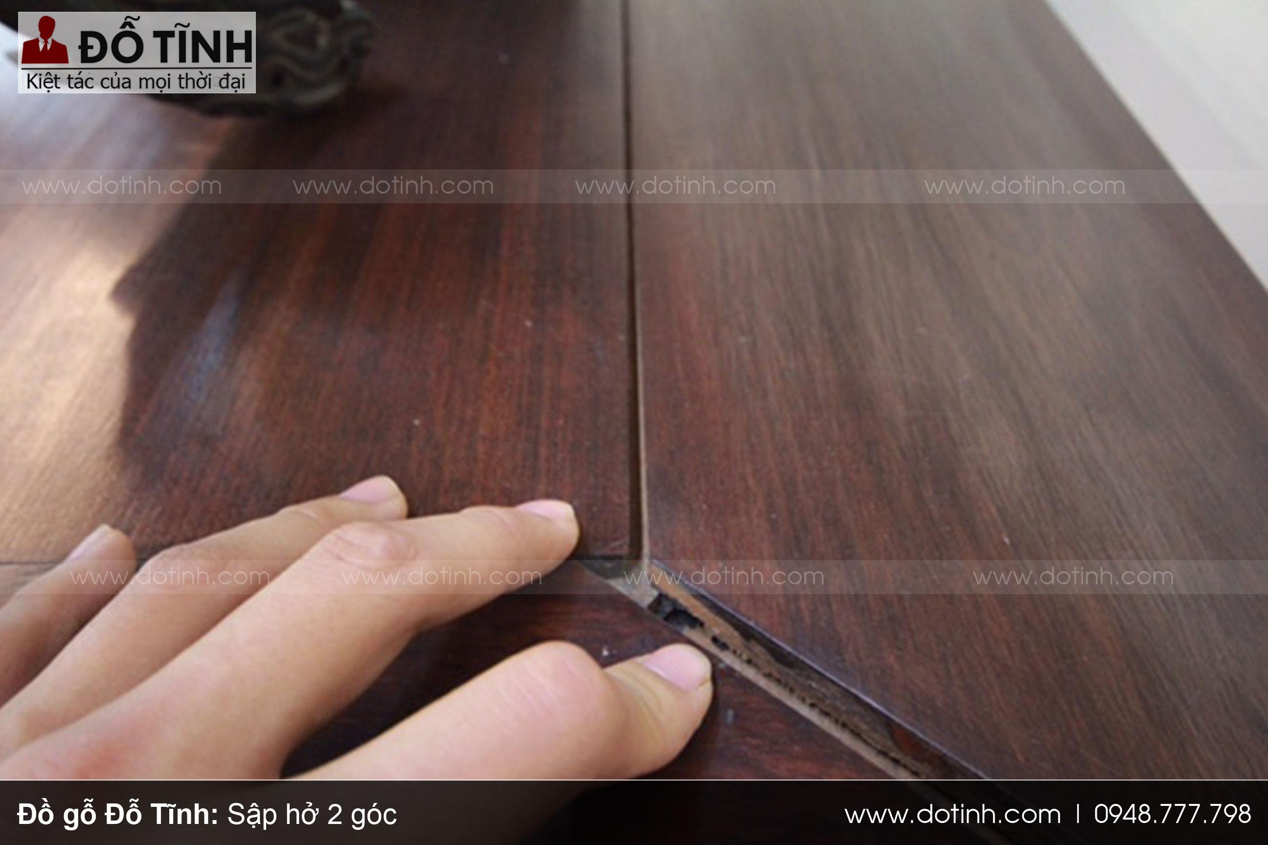 Kiểm tra kết cấu nội thất sập gỗ