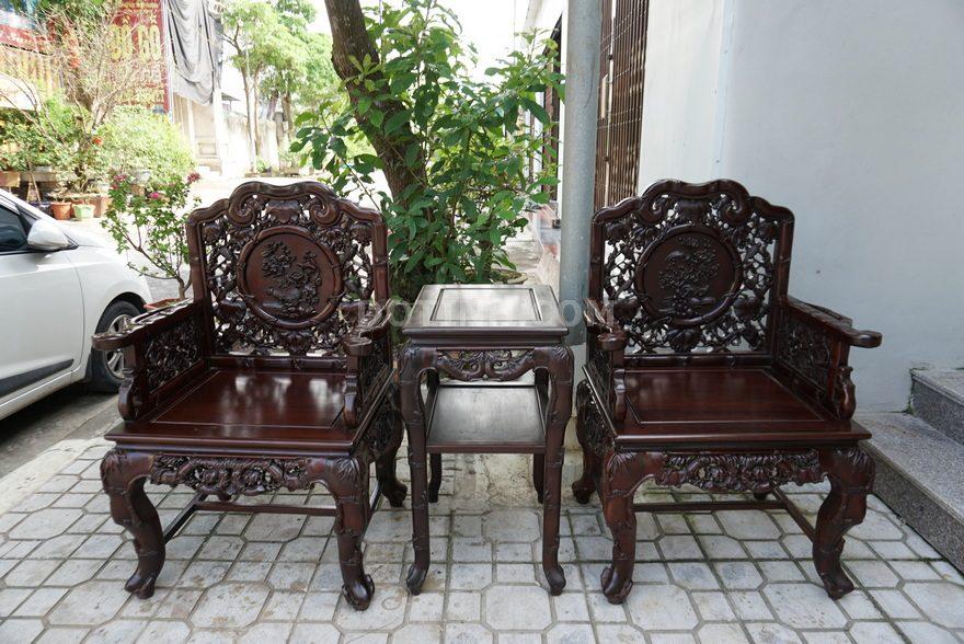 Địa chỉ bán bàn ghế gỗ phòng khách giá bình dân