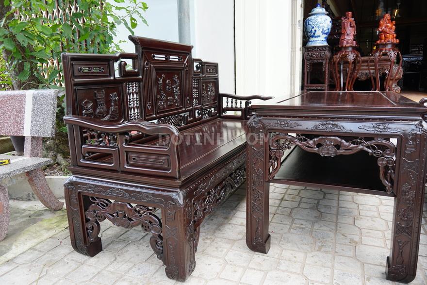 Bán trường kỷ cũ tại Hà Nội như thế nào? (Ảnh: Dotinh.com)