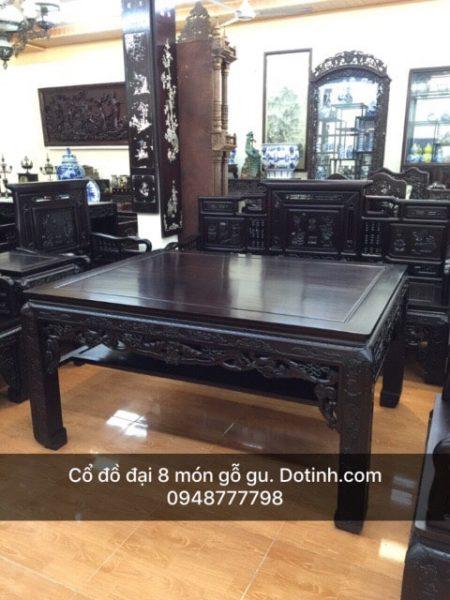 Chiếc bàn khá khủng, và rộng lớn (Ảnh: Dotinh.com)