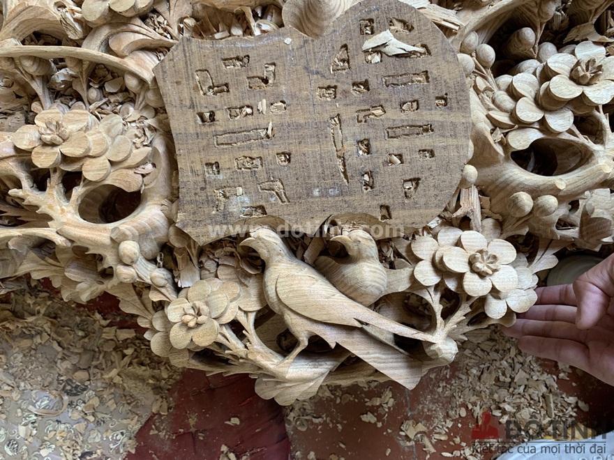 Vẻ đẹp trần trụi của sập thập điểu quần mai (Ảnh: Dotinh.com)