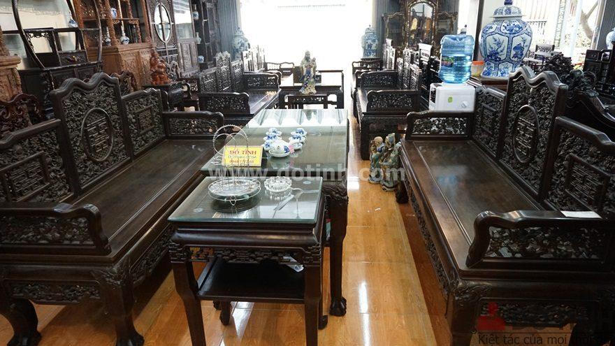 Địa chỉ bán bàn ghế trường kỷ gỗ cao cấp tại Đắk Nông