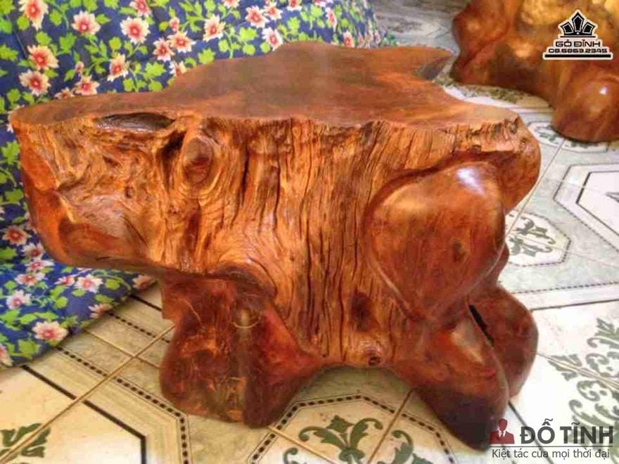 Nhận biết gỗ căm xe khi còn là nguyên liệu - Ảnh: Internet