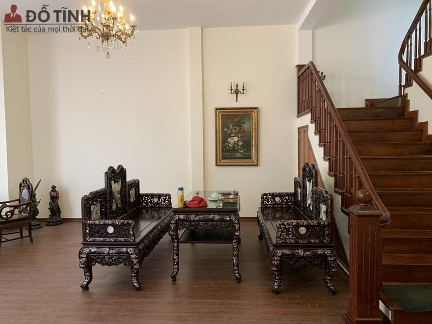 Kết cấu, form dáng bộ ghế vô cùng chắc chắn, vững trãi - Ảnh: Dotinh.com