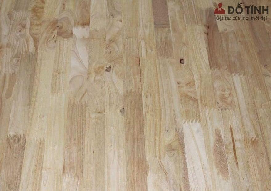 Đặc điểm cơ bản của gỗ cao su nên biết - Ảnh: Internet