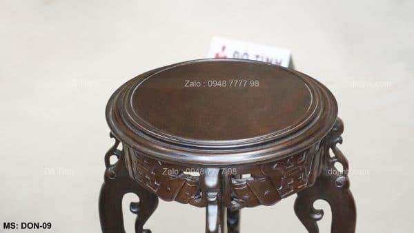 mẫu ghế đôn gỗ đẹp, ghế đôn gỗ giá rẻ, nơi sản xuất đôn gỗ, mẫu đôn gỗ đẹp