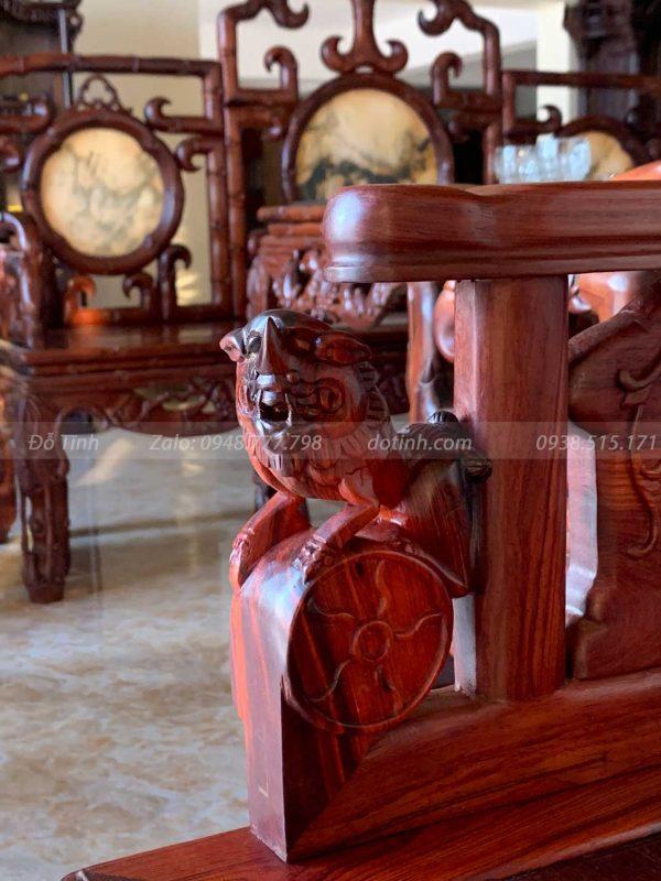 bộ bàn ghế cổng thành đại